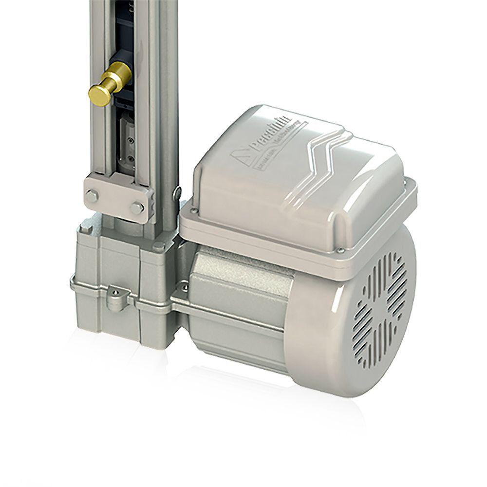 Kit Motor de Portão Basculante Peccinin Fast Gatter 1/4 + Suportes + Trava