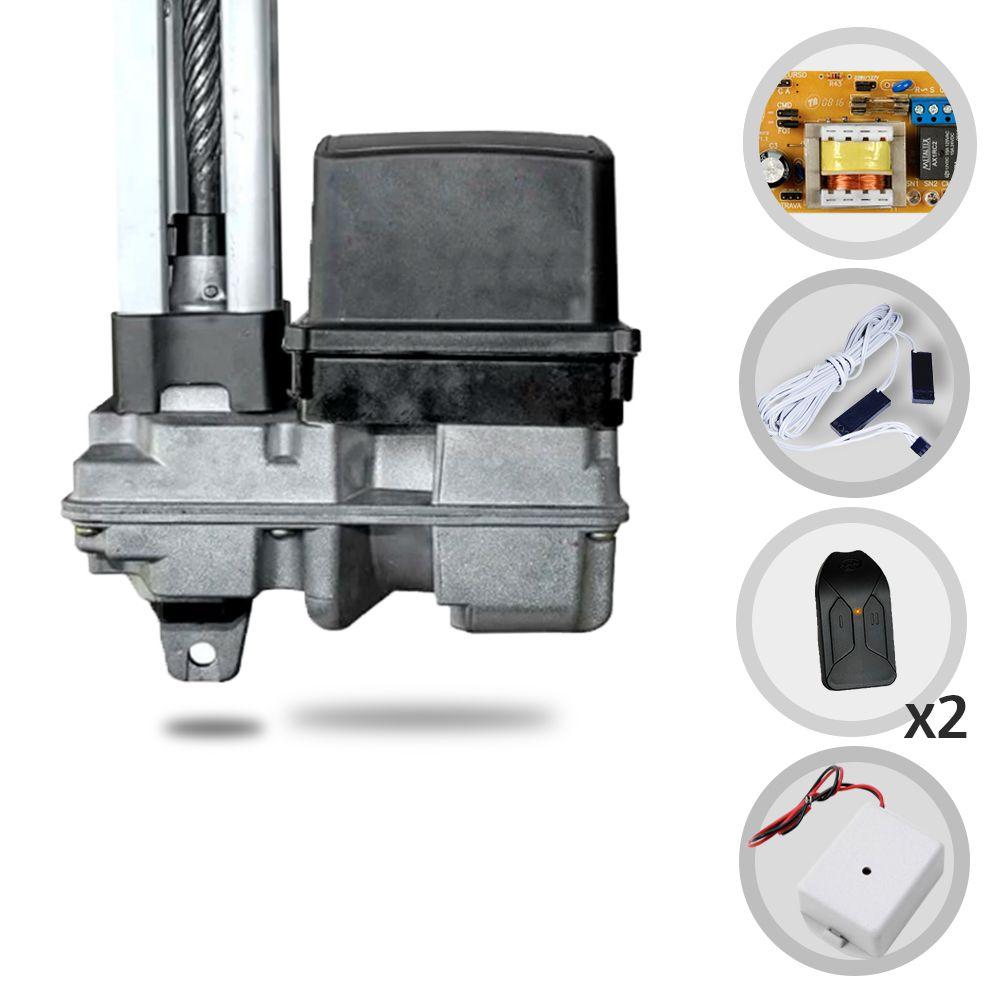 Kit Motor de Portão Basculante PPA Home R 1/4 Hp + Tx Car