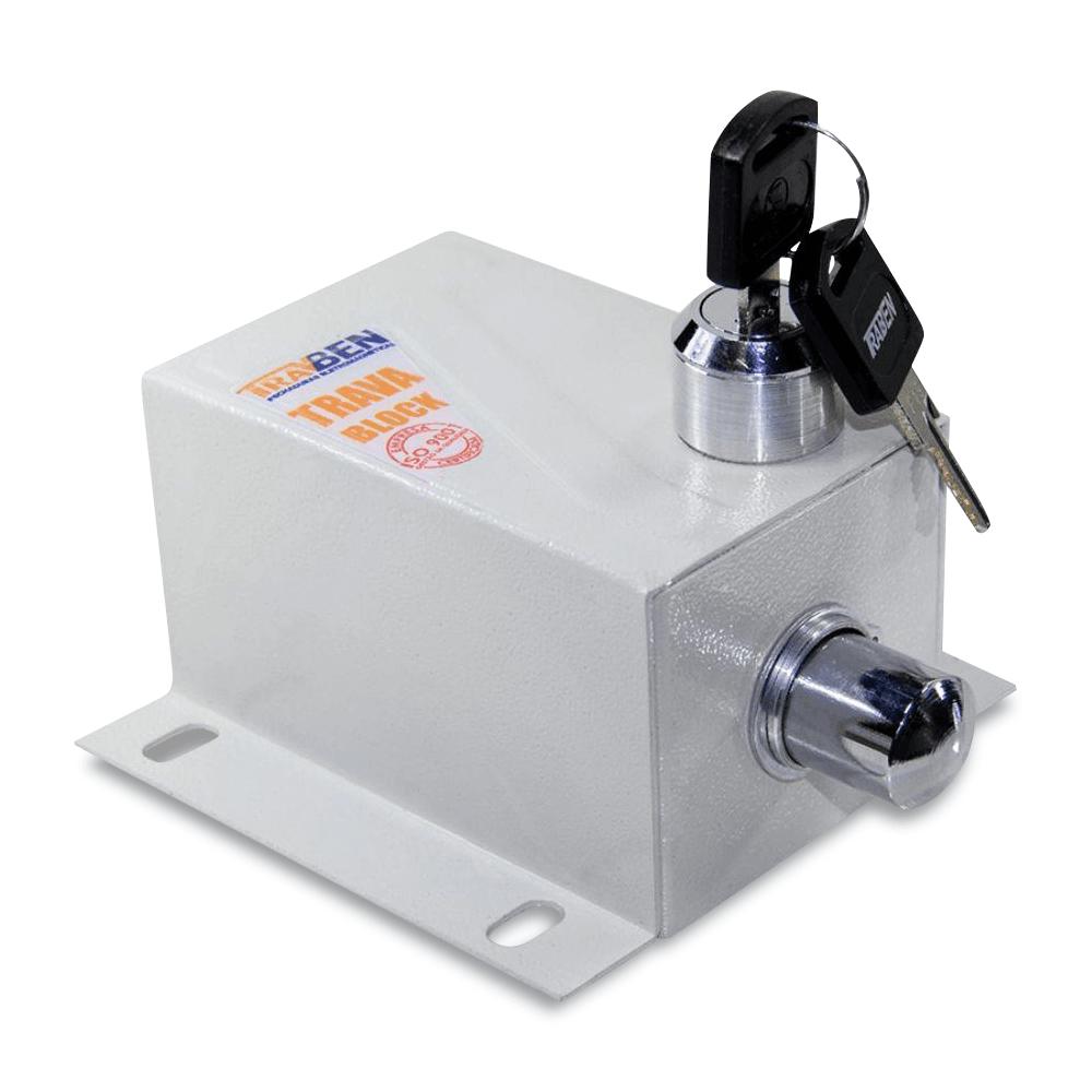 Kit Motor de Portão Basculante PPA Home R 1/4 + Suporte + Trava