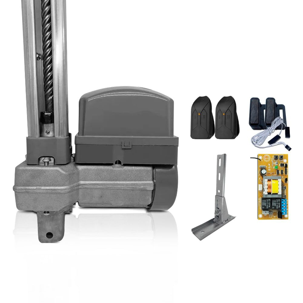 Kit Motor de Portão Basculante PPA Potenza Robust 1/3 Hp + Suporte