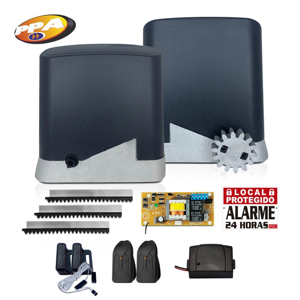 Kit Motor de Portão Eletrônico PPA Dz Home 300 + Tx Car