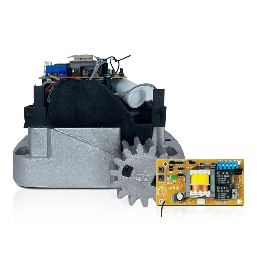 Kit Motor de Portão Deslizante PPA Dz Home 300 Porteiro e Fechadura