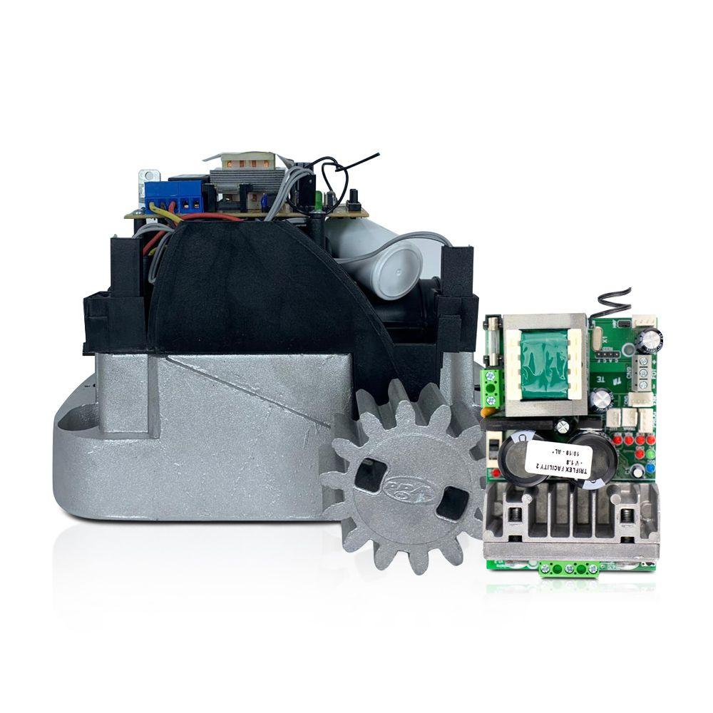 Kit Motor de Portão Deslizante PPA Dz Home 350 Jet Flex Facility