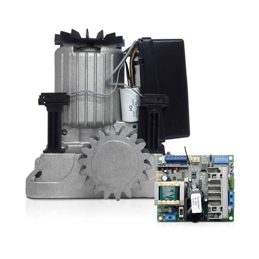 Kit Motor de Portão Deslizante PPA Dz Rio R 600 1/3 Jet Flex Connect