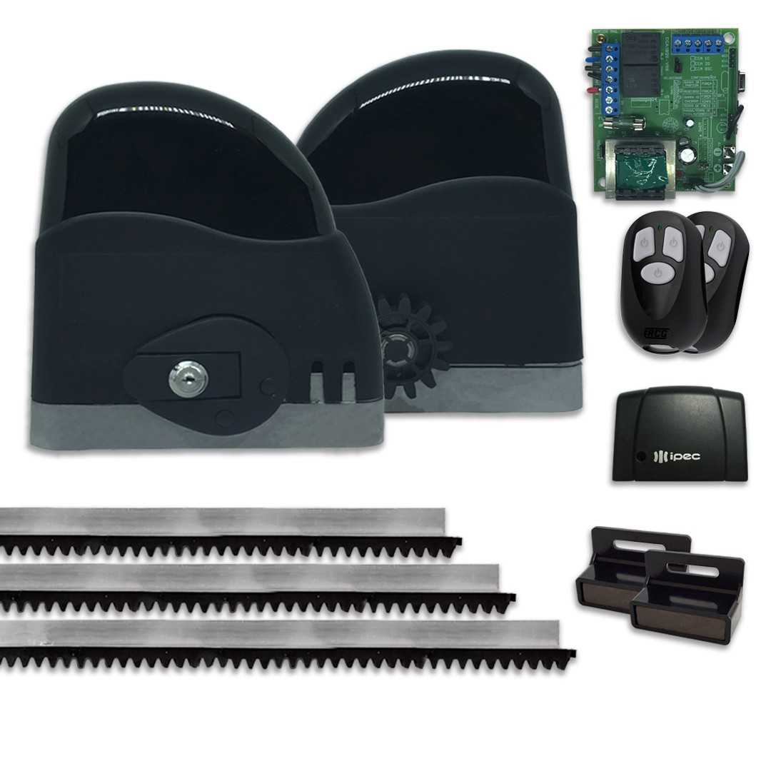 Kit Motor de Portão Deslizante RCG Slider AL Slim 1/5 Tx Car