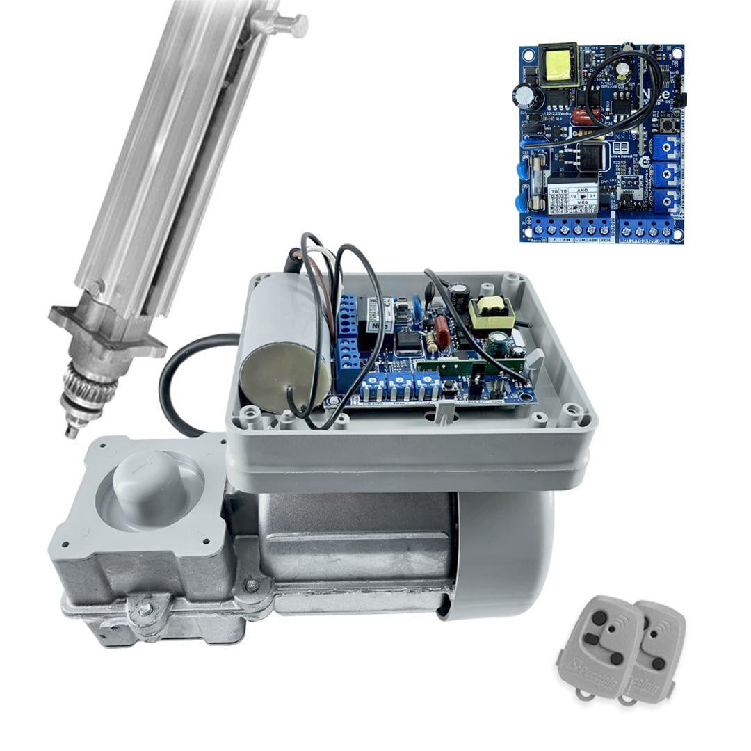 Kit Motor de Portão Eletrônico Basculante Peccinin Fast Gatter