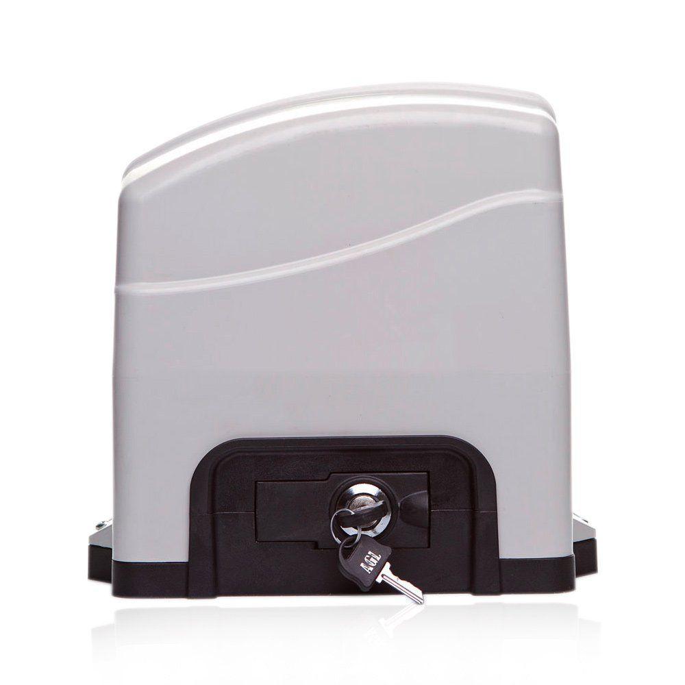 Kit Motor De Portão Eletrônico Deslizante AGL TRINO 300