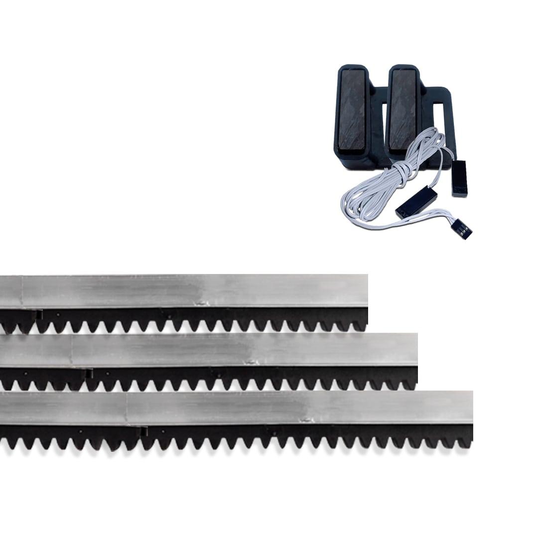 Kit Motor de Portão Eletrônico Deslizante Garen KDZ FIT 1/4 HP