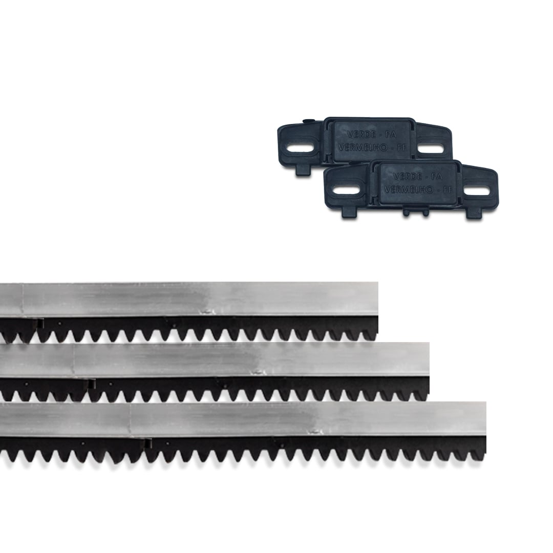 Kit Motor de Portão Eletrônico Deslizante Rossi Dz Nano