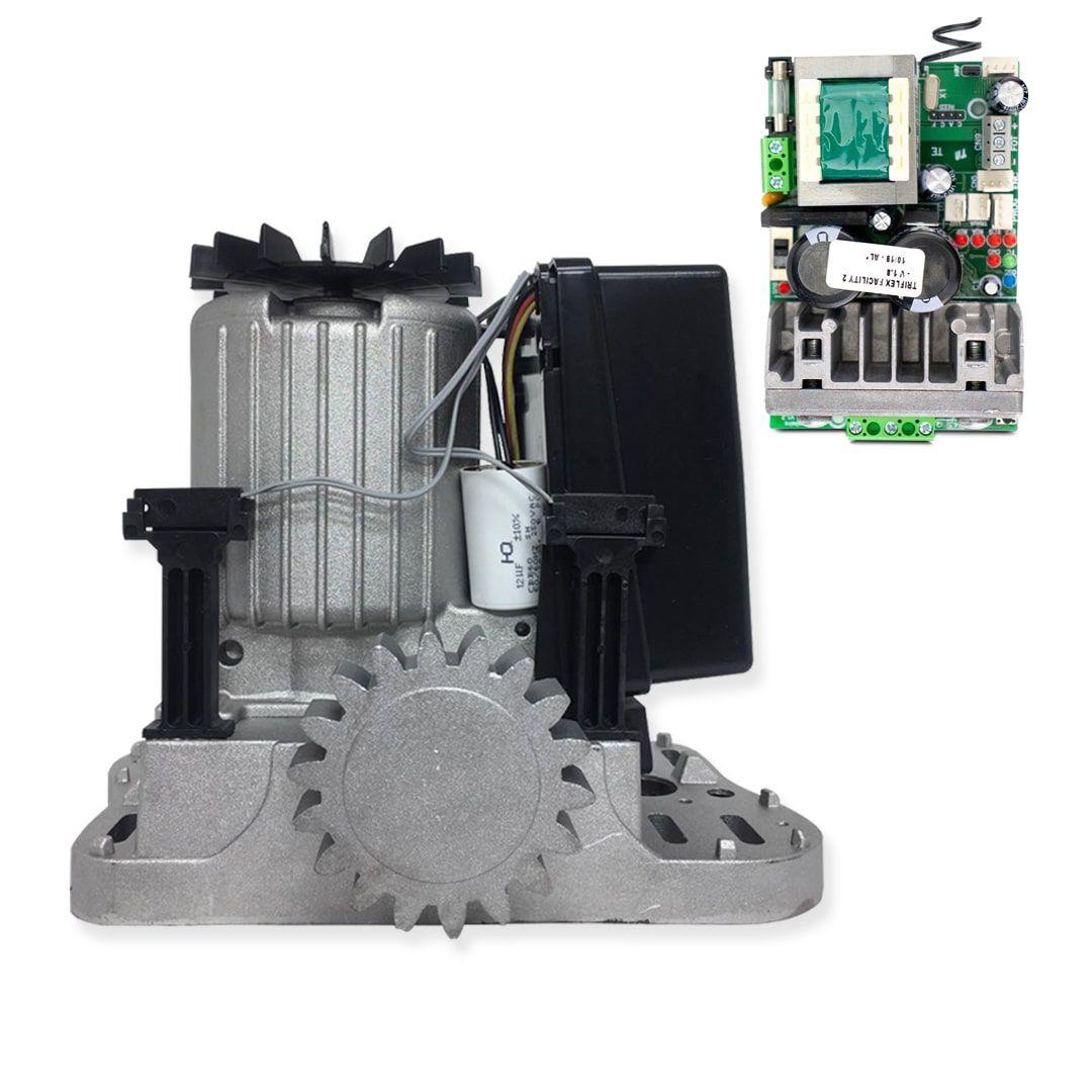 Kit Motor de Portão Eletrônico PPA Dz Rio R 500 1/4 Jet Flex Facility