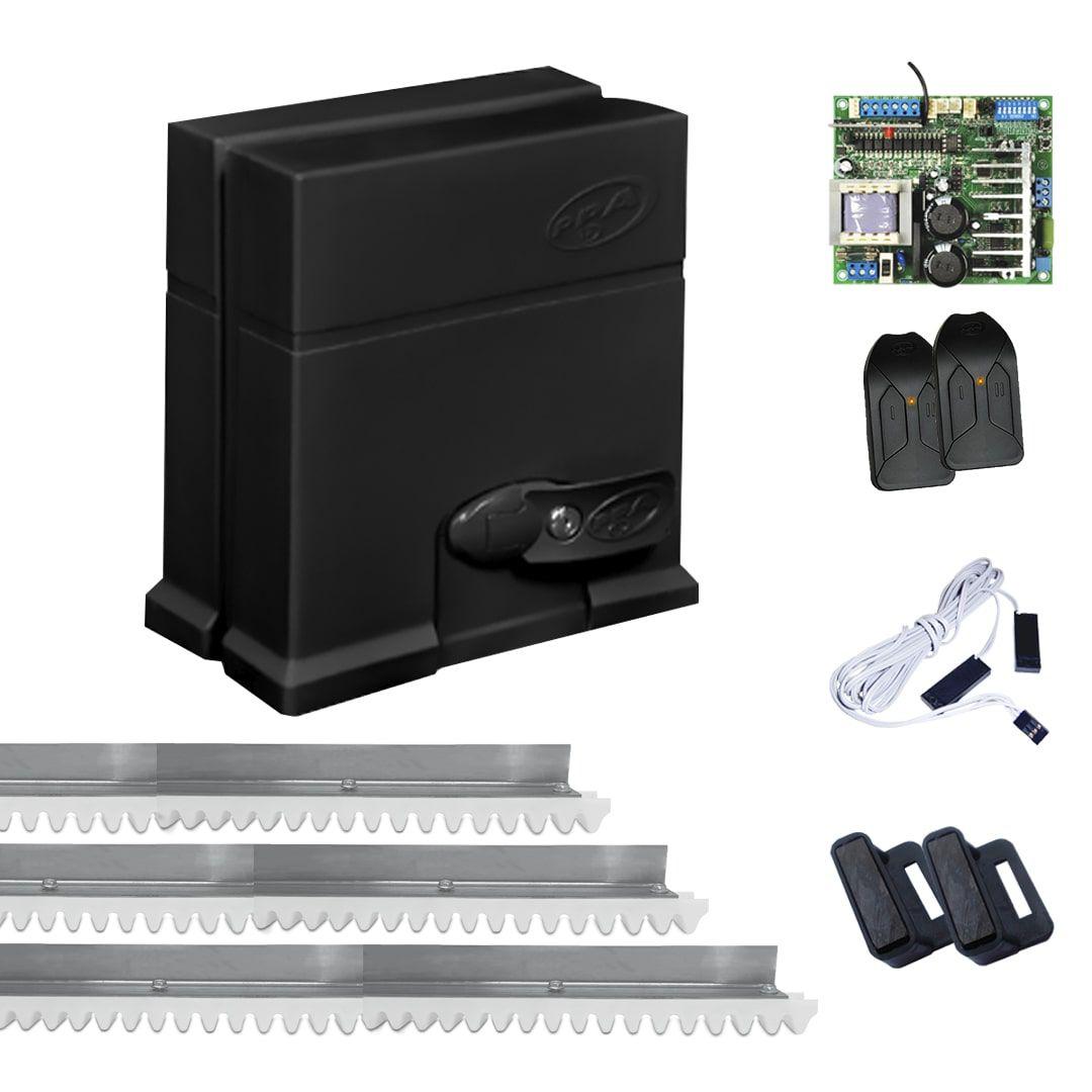 Kit Motor de Portão Eletrônico Industrial PPA DZ IND 2.2 Robust BLDC