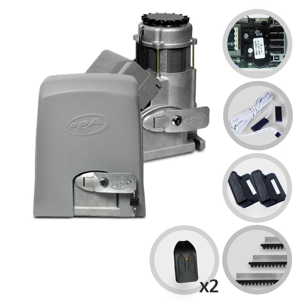 Kit Motor de Portão PPA Dz 800 Condominium Jet Flex Facility