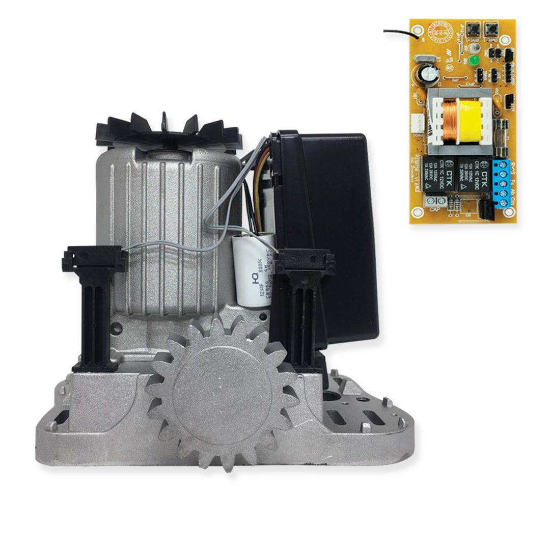 Kit Motor para Portão Automático PPA Dz Rio 400 1/4HP + Base