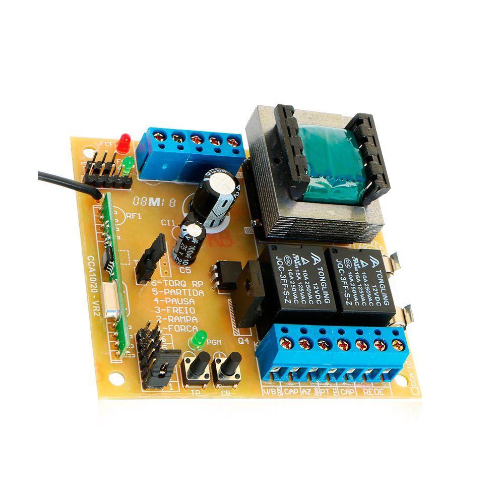 Kit Motor Portão Deslizante RCG Slider PL Maxi 1/4 HP Tx Car