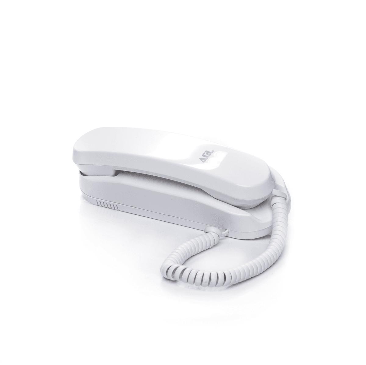 Kit Porteiro Eletrônico Coletivo AGL 8 Pontos S300 Com 8 Monofones