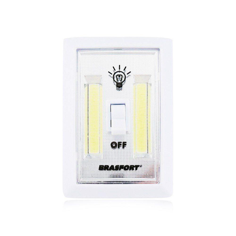 Luminária Led Interruptor Brasfort a Pilha