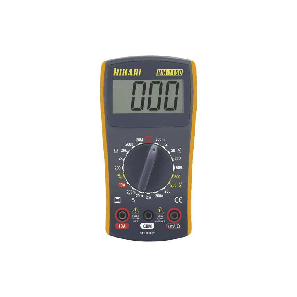 Multímetro Digital Hikari HM 1100