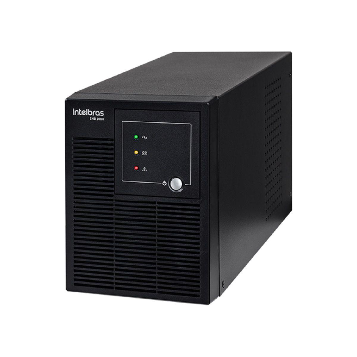 Nobreak Senoidal Intelbras SNB 1000 Entrada Biv. Saída 120V