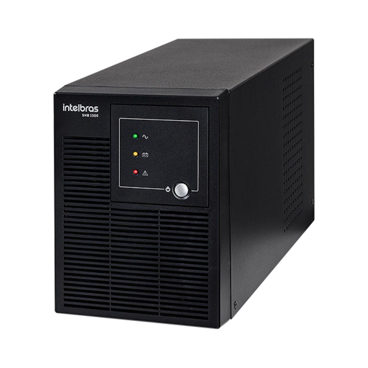 Nobreak Senoidal Intelbras SNB 1500 Entrada Biv. Saída 120V