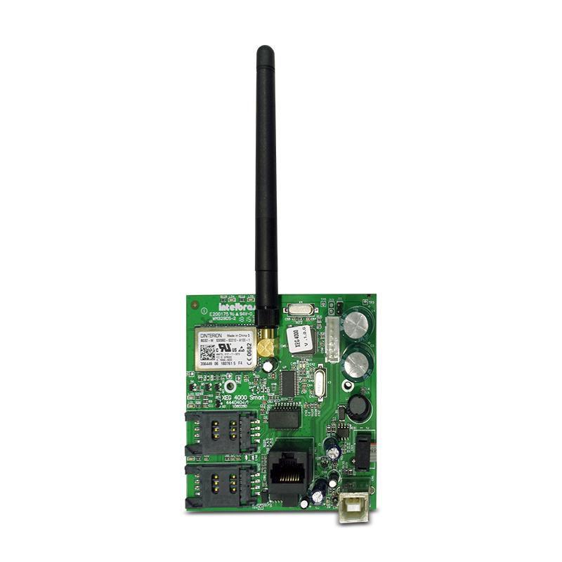 Módulo Comunicador Ethernet GPRS Intelbras XEG 4000 Smart