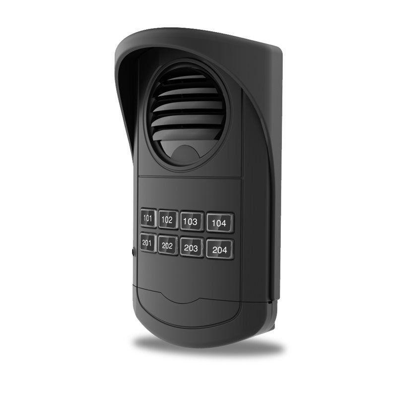 Interfone Coletivo Porteiro Eletrônico Agl S300 8 Pontos
