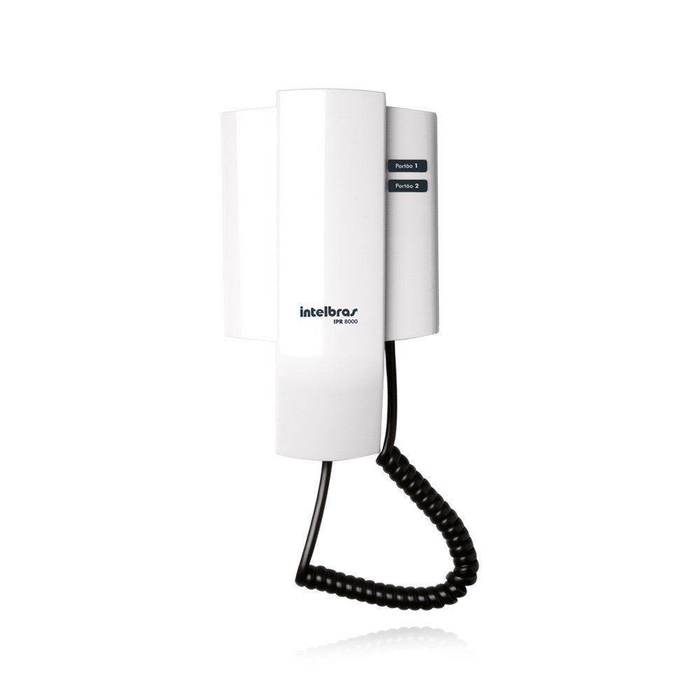 Interfone Porteiro Residencial Intelbras IPR 8010