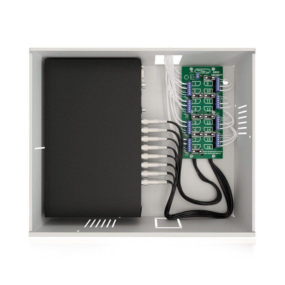 Rack Organizador para CFTV Onix Mini Orion HD 3000 16 Canais