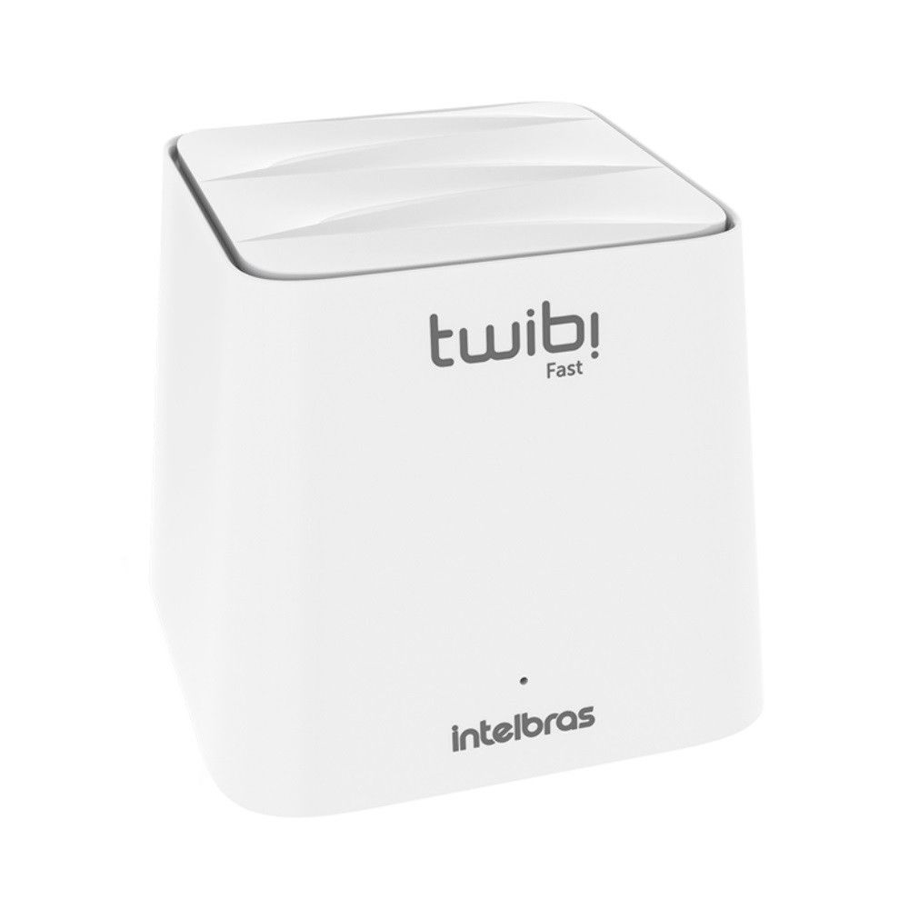 Roteador Wi-Fi Mesh Intelbras Twibi Fast 1 Módulo