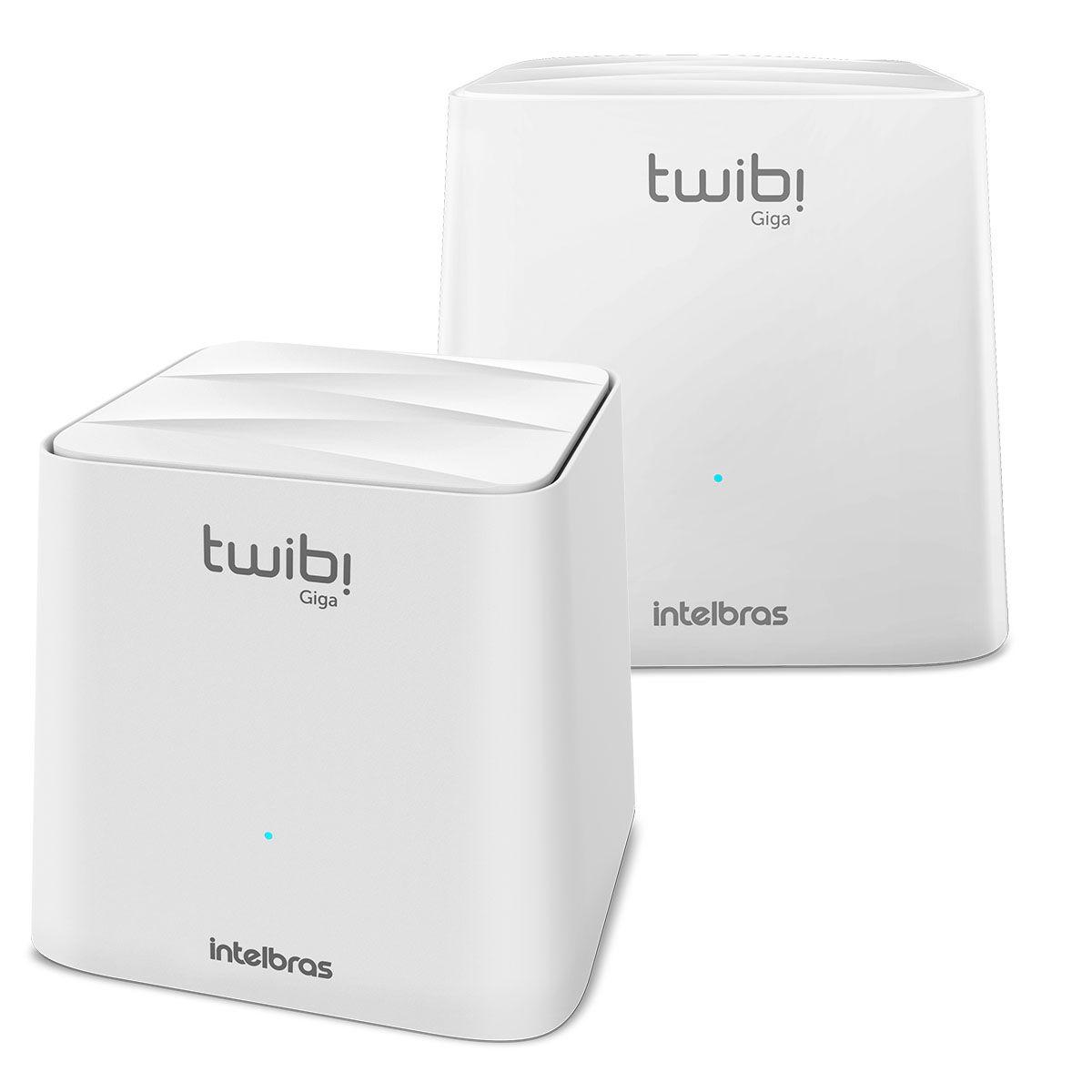 Roteador Wi-Fi Mesh Intelbras Twibi Giga 2 Módulos