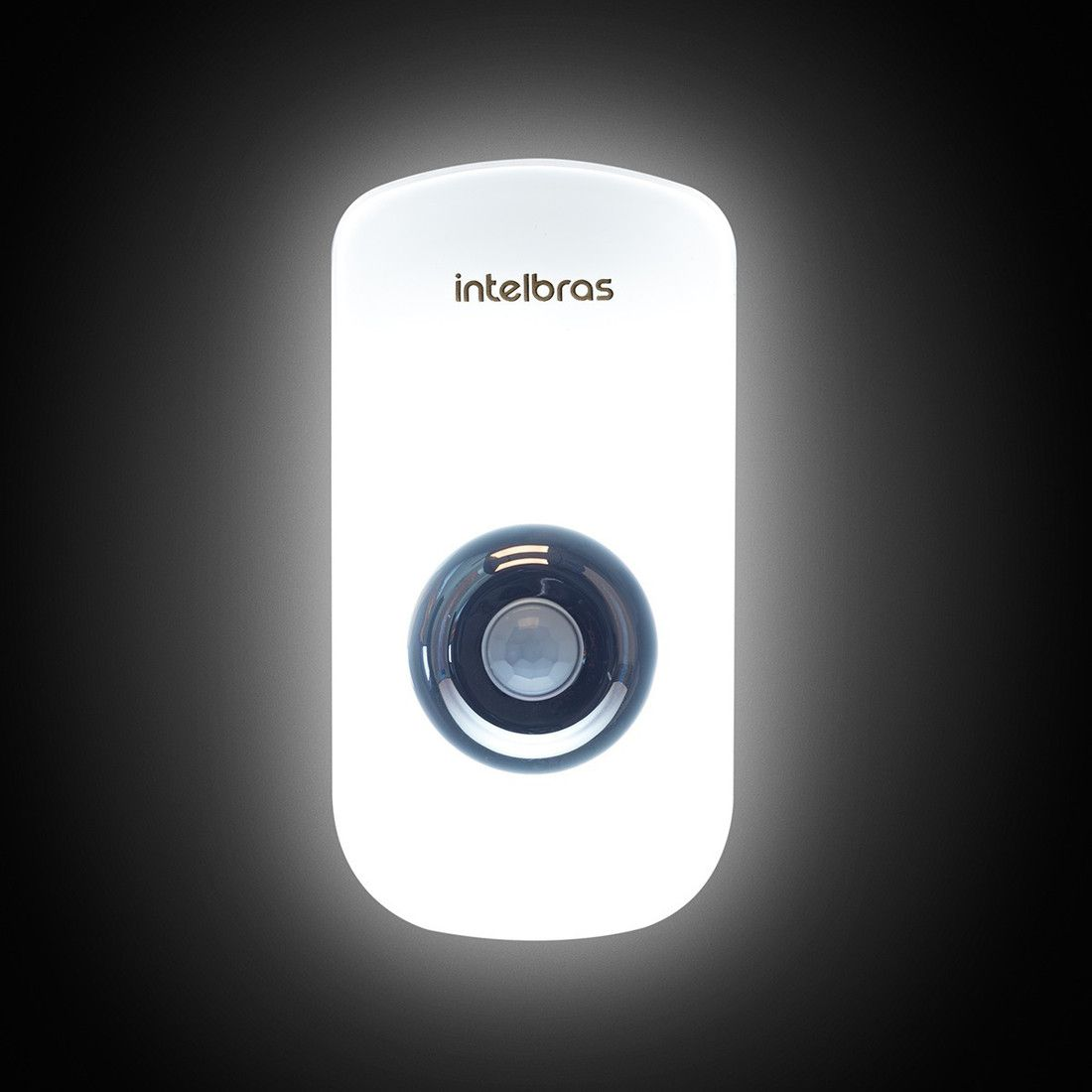 Sensor de Presença com Iluminação LED Intelbras ESI 5003
