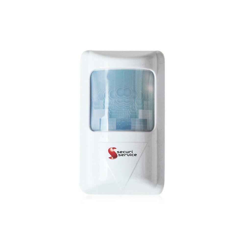 Sensor Infravermelho Passivo Securi Service SS 2200 Sem Fio
