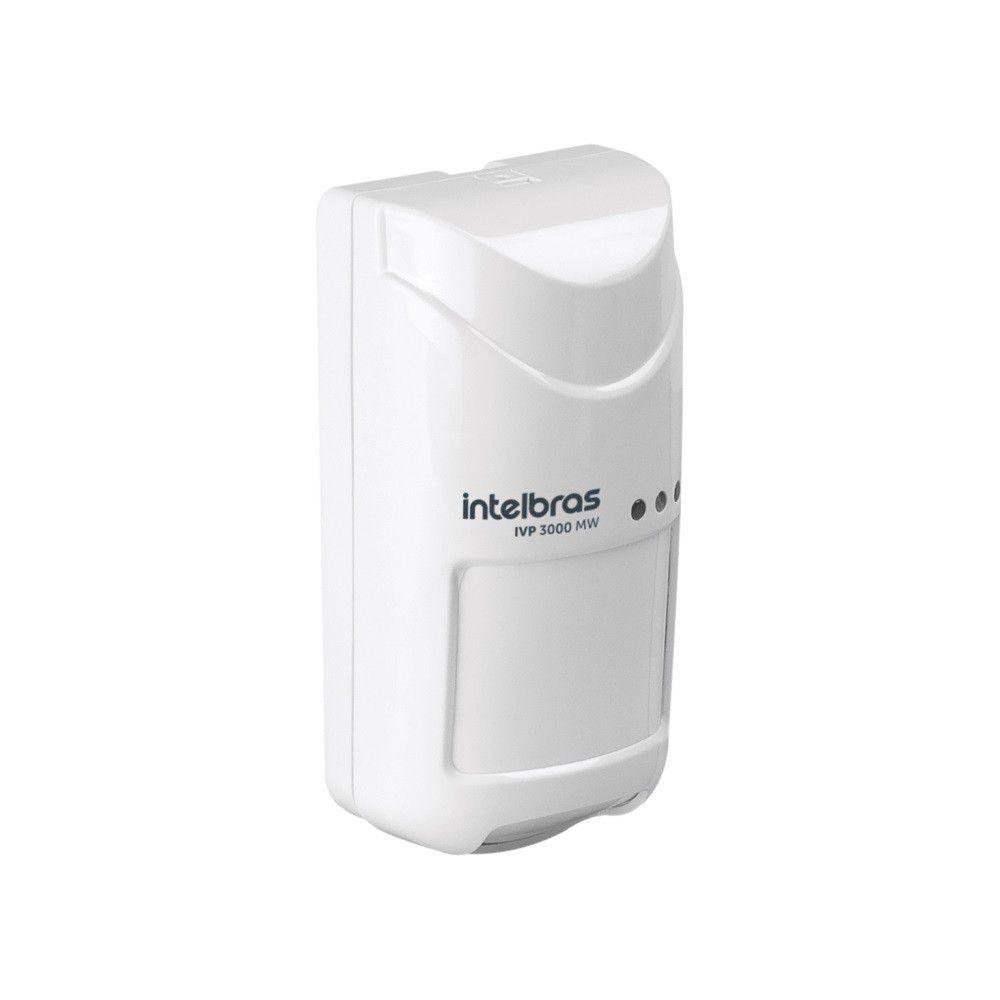 Sensor Infravermelho Passivo Intelbras IVP 3000 MW