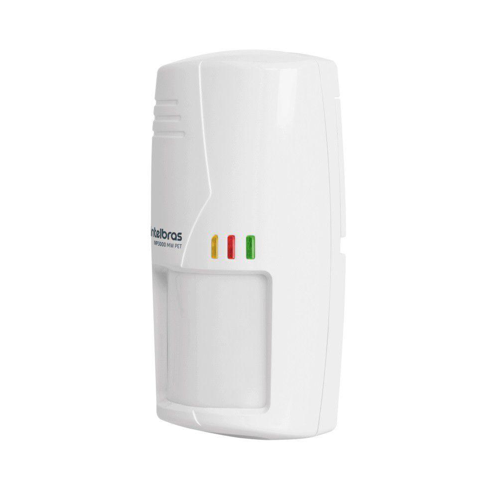 Sensor Infravermelho Passivo Intelbras IVP 3000 MW PET