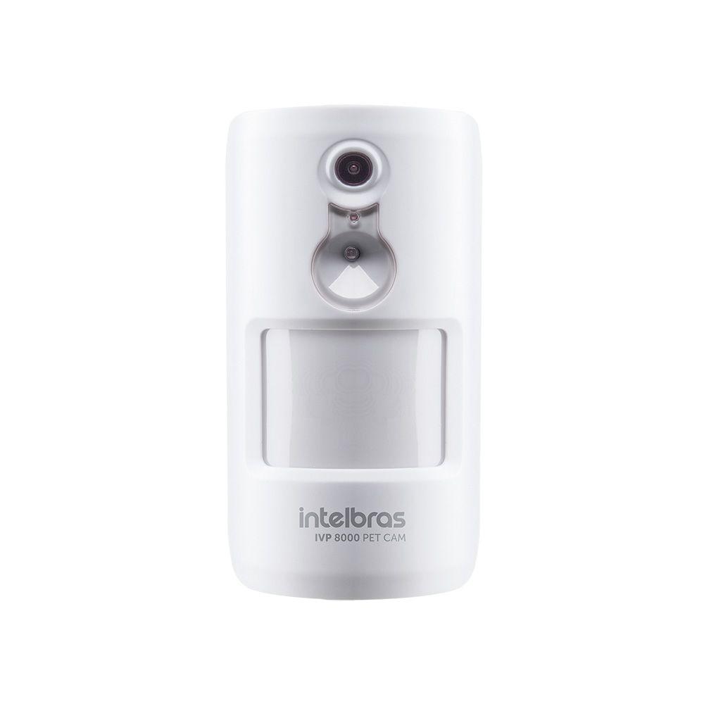 Sensor Infravermelho Passivo Intelbras IVP 8000 PET CAM