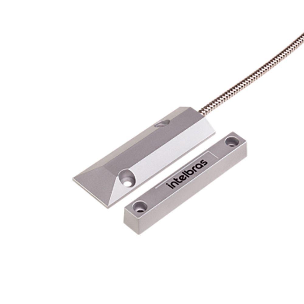 Sensor Magnético Intelbras XAS Porta de Aço com fio