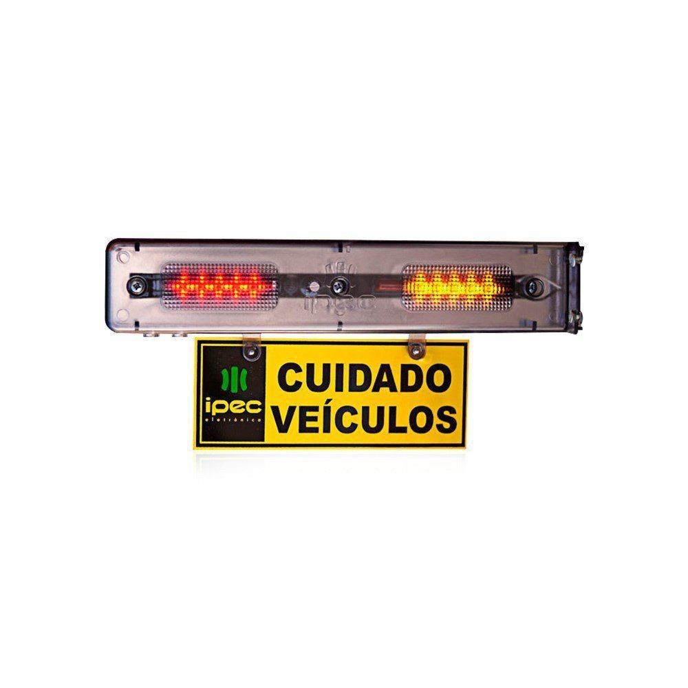 Sinalizador Sinaleira Entrada e Saída de Veículos Audiovisual Ipec