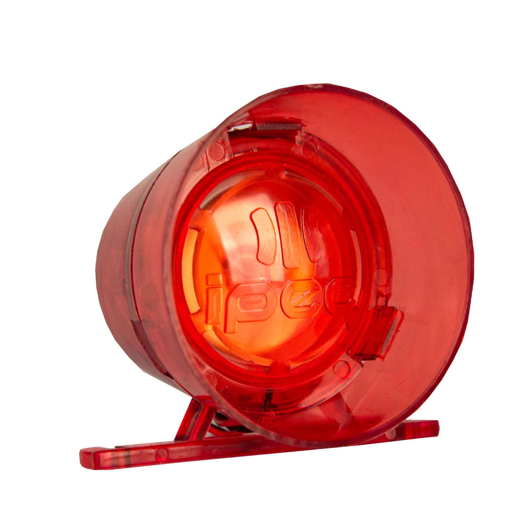 Sirene para Alarme Audiovisual IPEC 12/24 Vdc 120 dB