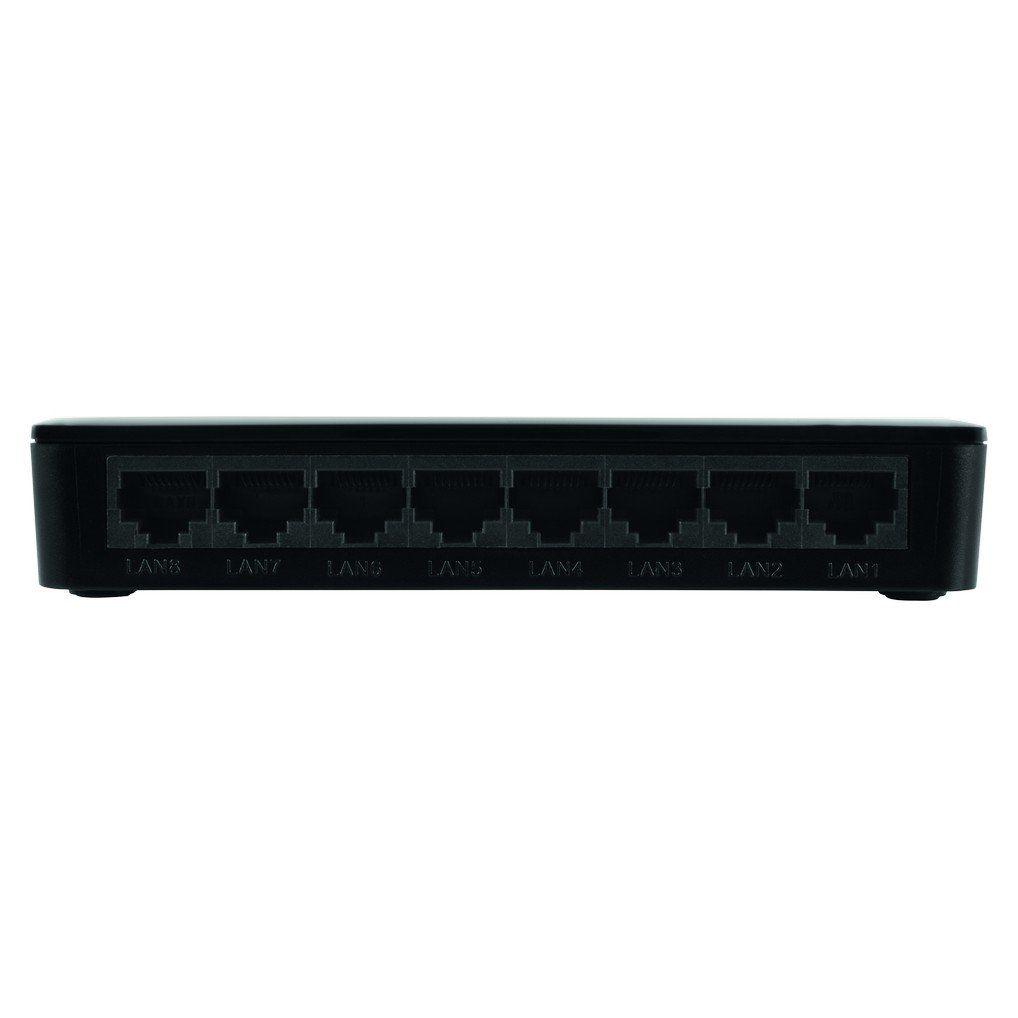 Switch 8 portas Fast Ethernet Intelbras SF 800 VLAN