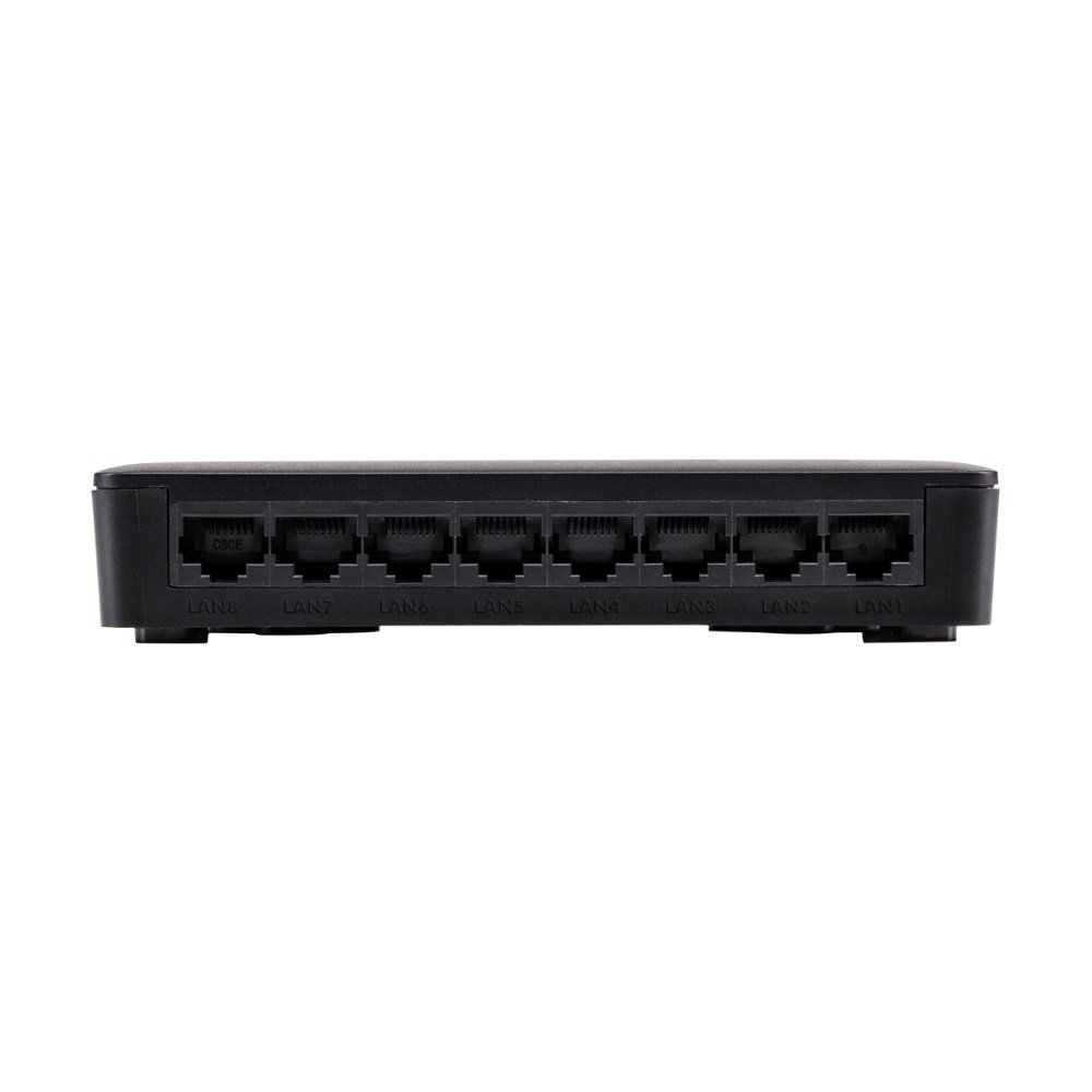 Switch 8 portas Fast Ethernet Intelbras SF 800 VLAN Ultra