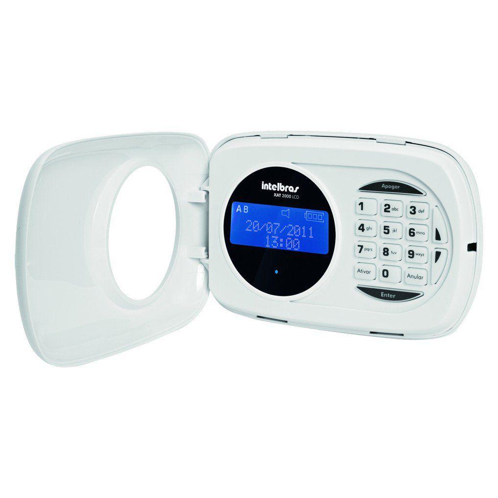Teclado de Alarme Monitorado Intelbras XAT 2000 LCD