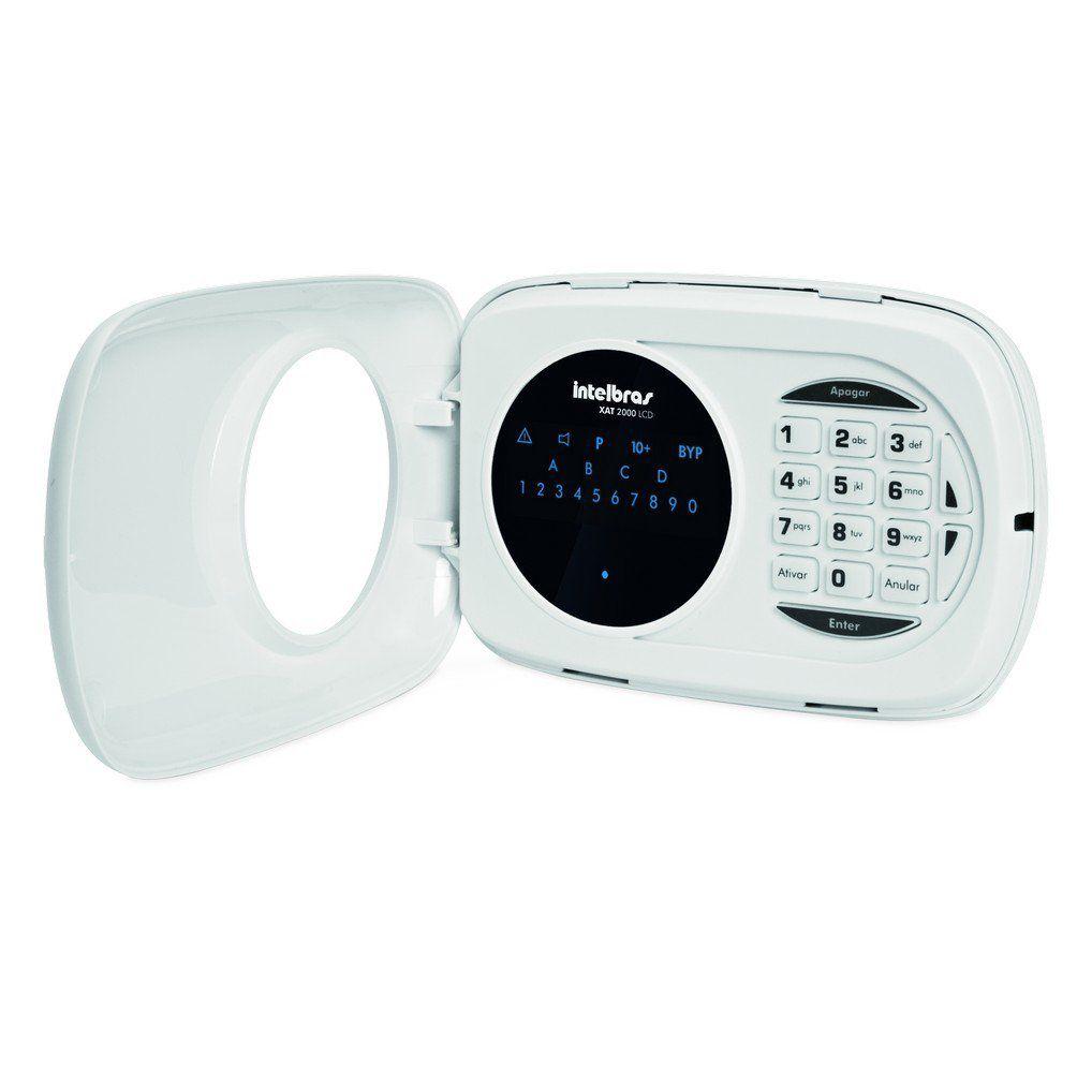 Teclado de Alarme Monitorado Intelbras XAT 3000 LED