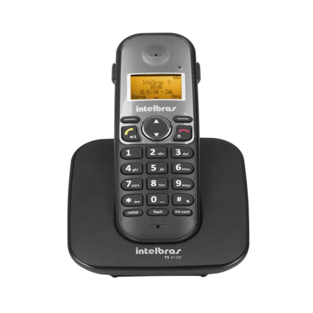 Telefone sem Fio com Ramal Externo Intelbras TIS 5010