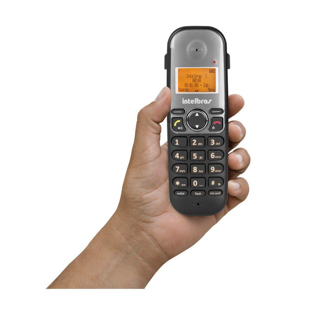 Telefone Sem Fio Intelbras TS 5120 Digital com Viva Voz