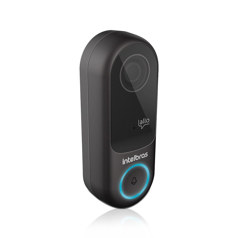 Vídeo Porteiro Wi-Fi Allo W3 Intelbras Sem Fio com App para Smartphone