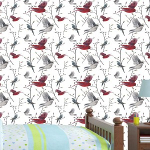 OUTLET - Papel de Parede Birds In Nature 50cm x 1,50m