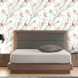 Papel de Parede Adesivo Colored Birds