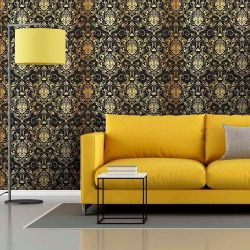 Papel de Parede Adesivo Luxury Gold