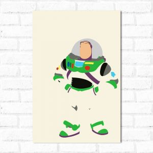 Placa Decorativa Buzz Lightyear