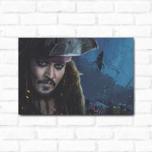 Placa Decorativa Jack Sparrow 2