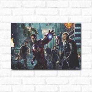 Placa Decorativa Vingadores 1